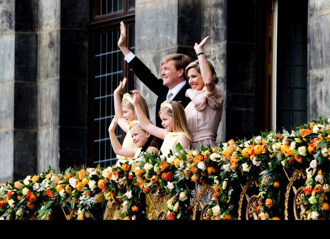 Dutch Royal Family 30-4-2013