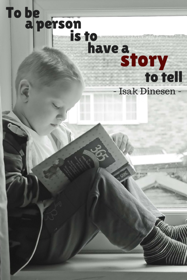 have a story to tell