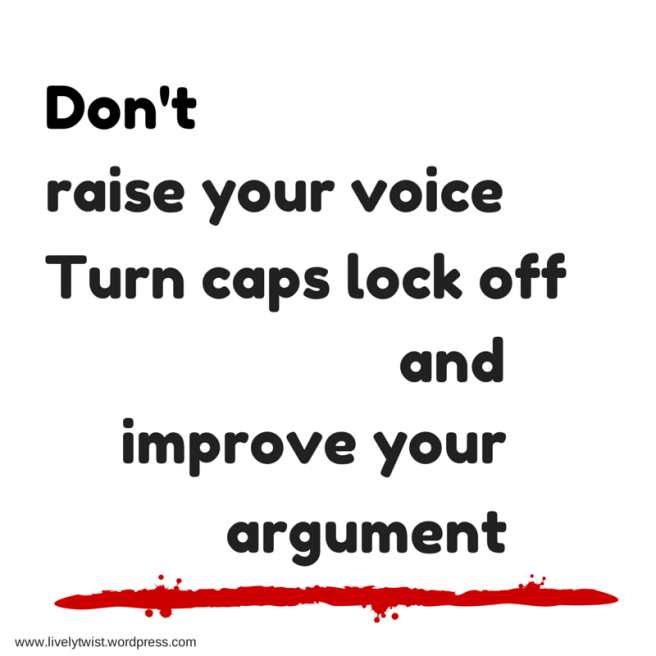 turn off caps