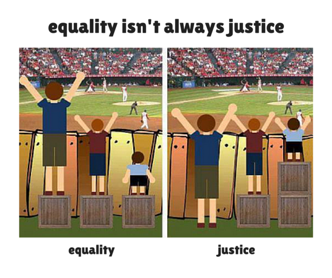 equality v justice
