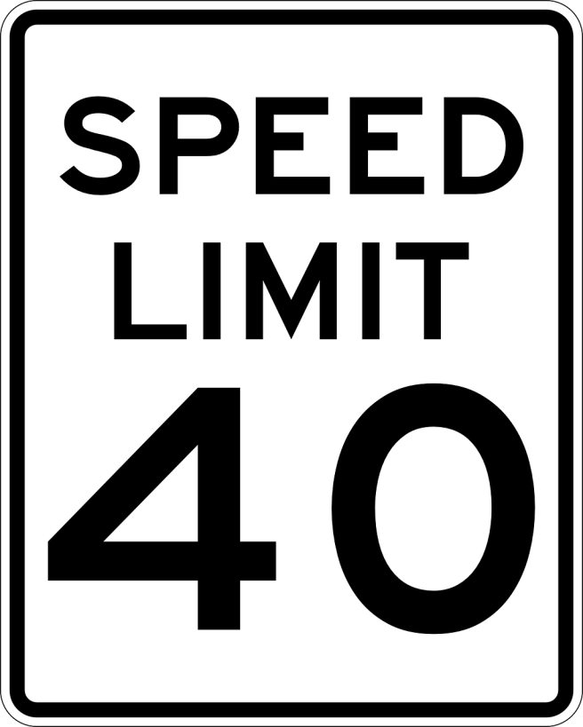 sign-speed limit