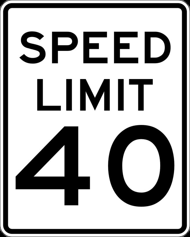 sign-speed limit
